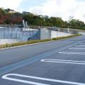 永代供養墓「聖光」の駐車場と水場