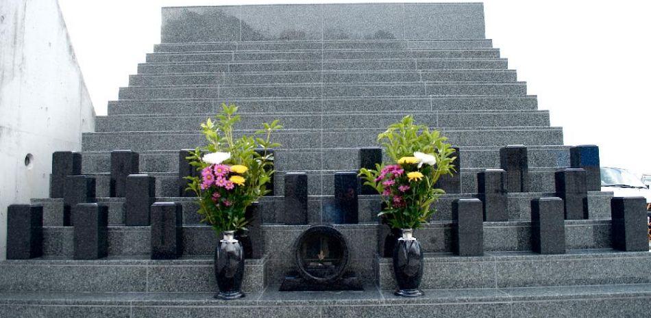 新しいお墓のかたち、道後聖墓苑永代供養墓【聖光】